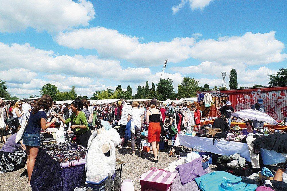 最大、最經典的跳蚤市集 Mauerpark Flohmarkt