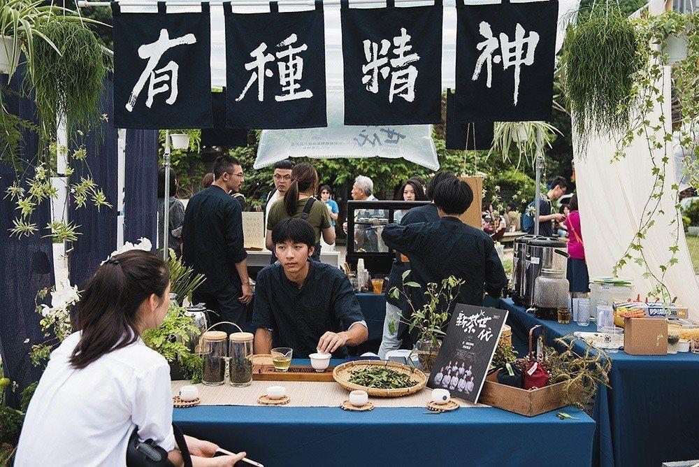 2018 台灣文博會市集採邀請制,「A咖攤商」成為一大話題。