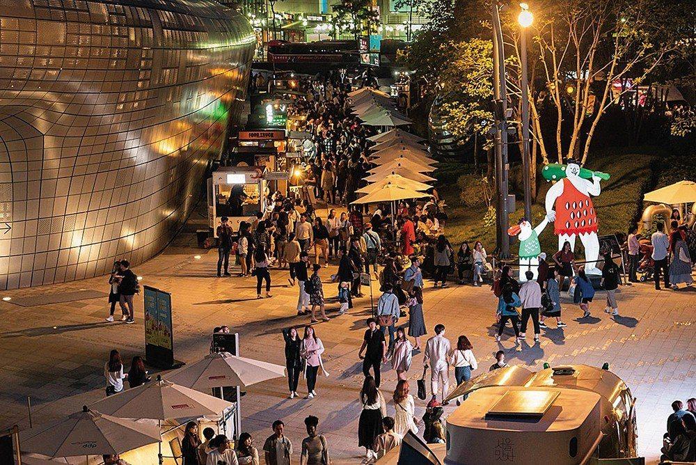 首爾夜貓子市集