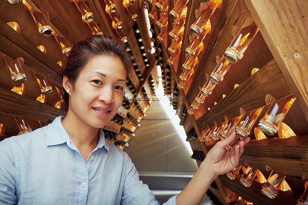 威石東營運總監楊仁亞。 圖片提供 威石東