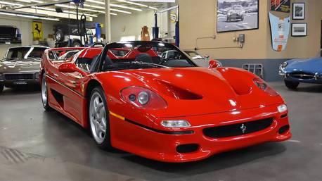 僅行駛2200km的Ferrari F50 竟然來頭不小!