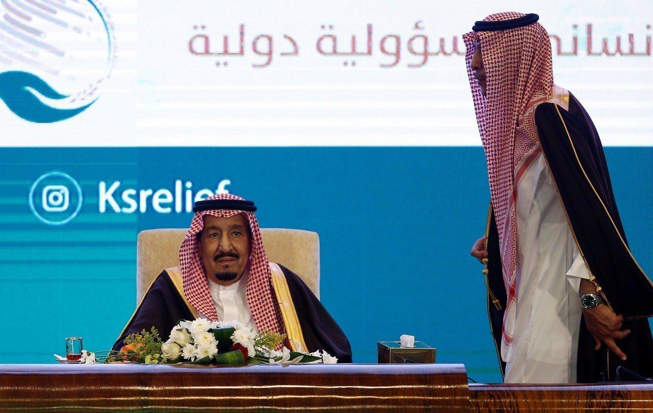 沙烏地阿拉伯國王沙爾曼今年2月26日參加在利雅德舉辦的利雅德國際人權論壇。路透