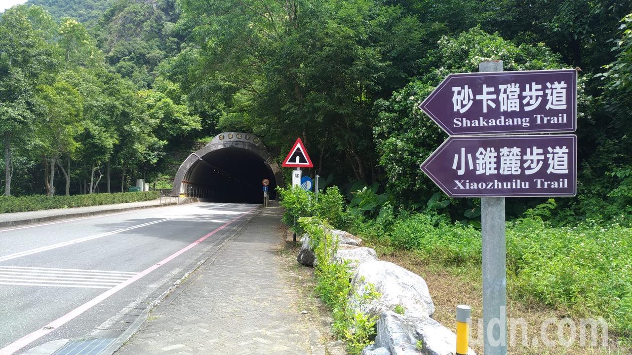 砂卡礑隧道。記者楊德宜/攝影
