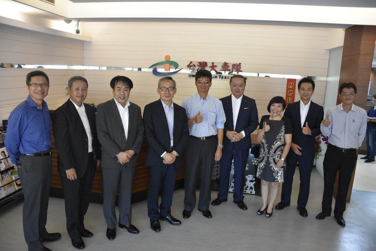 台灣大車隊為讓國人到了日本,也能享受安心、方便的交通服務,7月底與日本東京計程車...