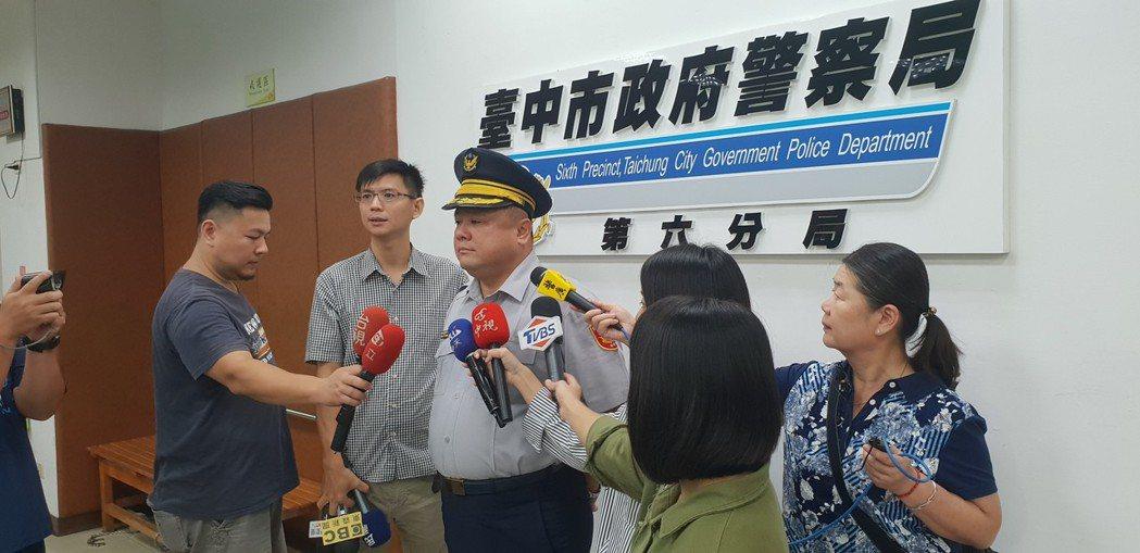 台中警方鎖定李姓慣竊。記者游振昇/攝影