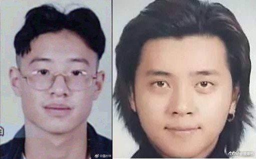 潘瑋柏(左)、羅志祥的舊照陸續被起底。圖/摘自微博
