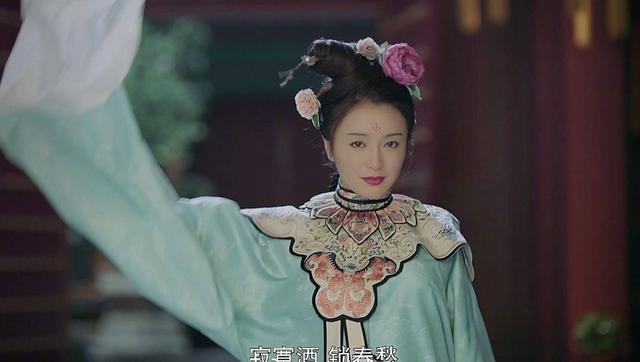 富察皇后跳洛神舞的鏡頭,被網友發現居然和Valentino 2016早秋的一件服...