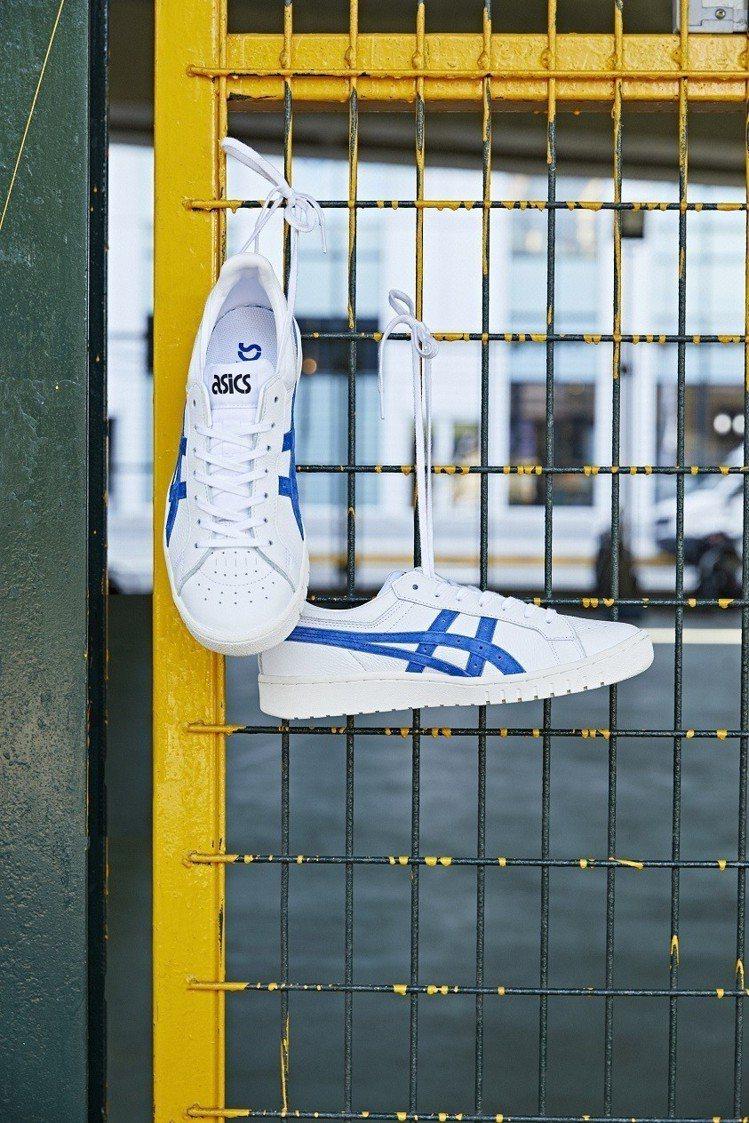 ASICSTIGER GEL-PTG沁涼藍鞋,約3,200元。圖/Asics提供