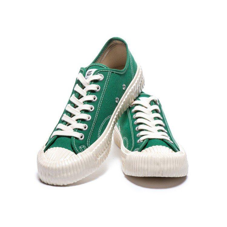 EXCELSIOR森林綠餅乾鞋,約2,680元。圖/沃得貿易提供