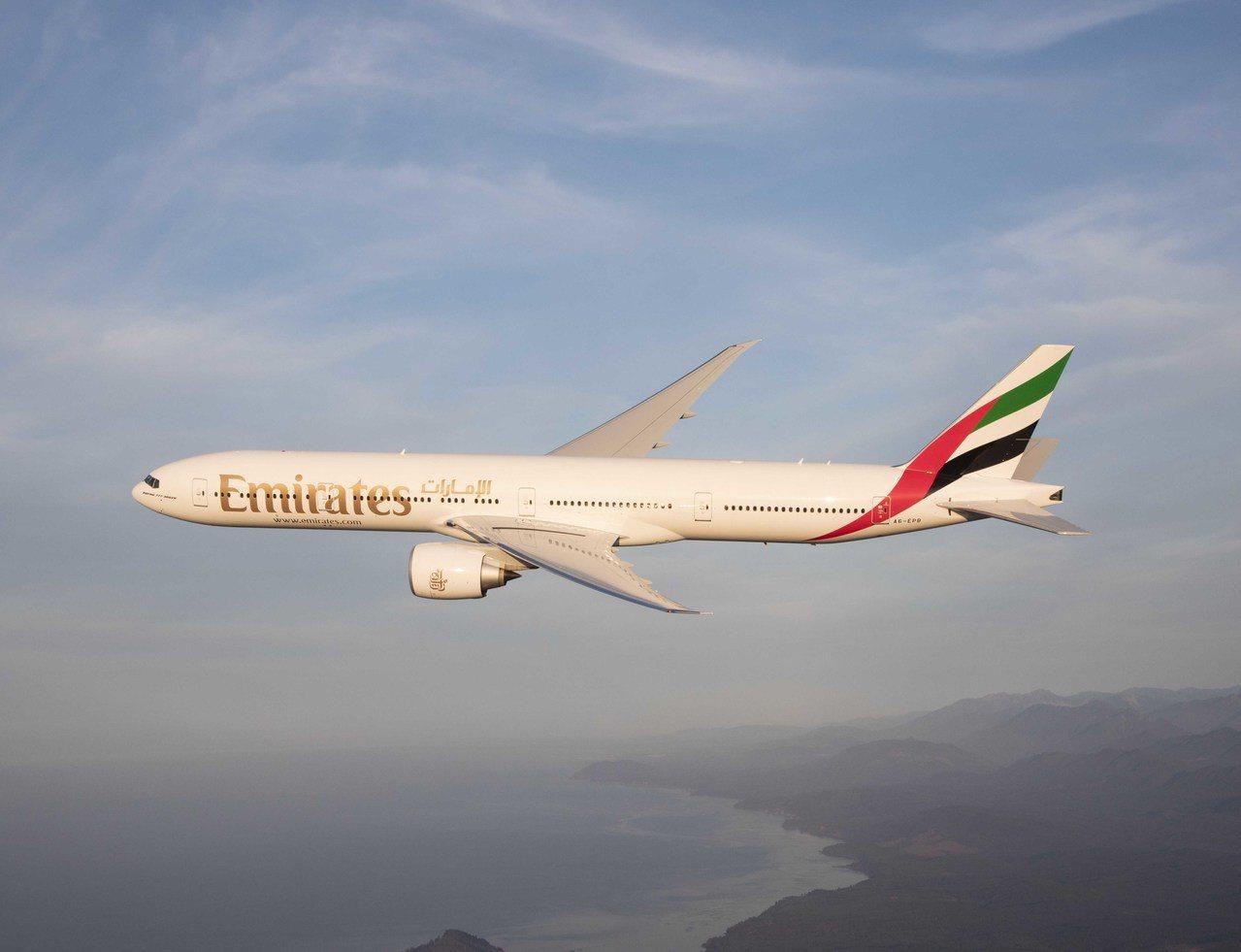 阿聯酋航空推出英國、愛爾蘭等地區限時優惠票價。圖/阿聯酋航空提供