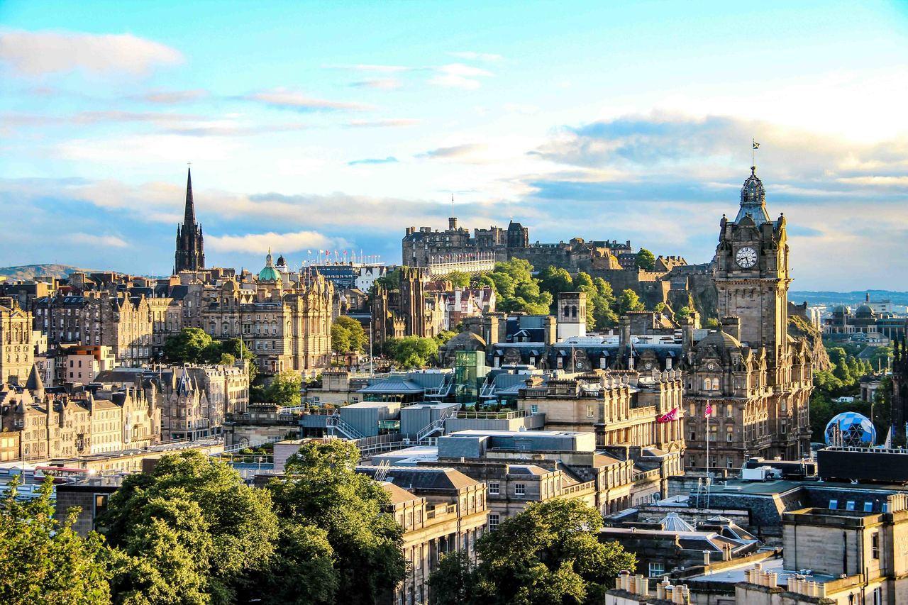 愛丁堡是阿聯酋航空在蘇格蘭地區的第二個航點。圖/阿聯酋航空提供
