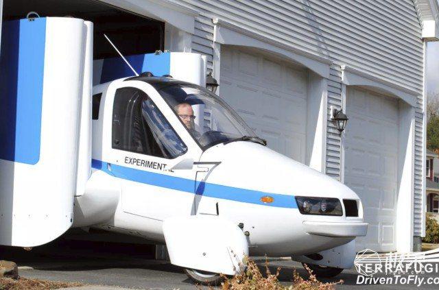 飛行汽車Transition的機翼會在40秒內就能完全伸展,而且僅需30公尺長度...
