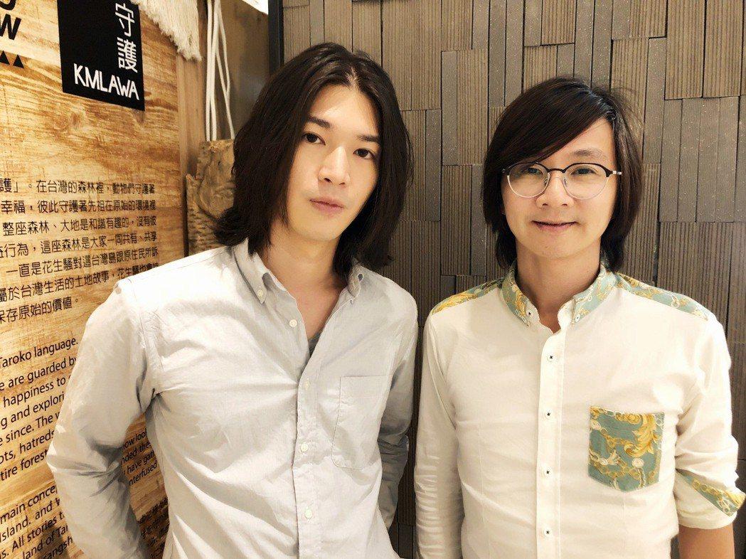 楊影(左)是林隆璇力捧的新人。圖/青田音樂提供