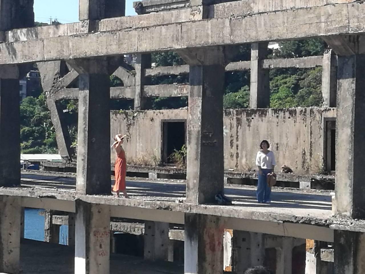 阿根納造船廠建於1967年,雖部分建築主體遭拆除,但半毀造船廠廢墟仍成為不少遊客...