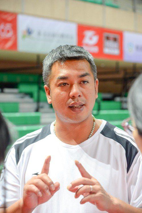 中華男排總教練陳裕安。圖/中華排球協會提供
