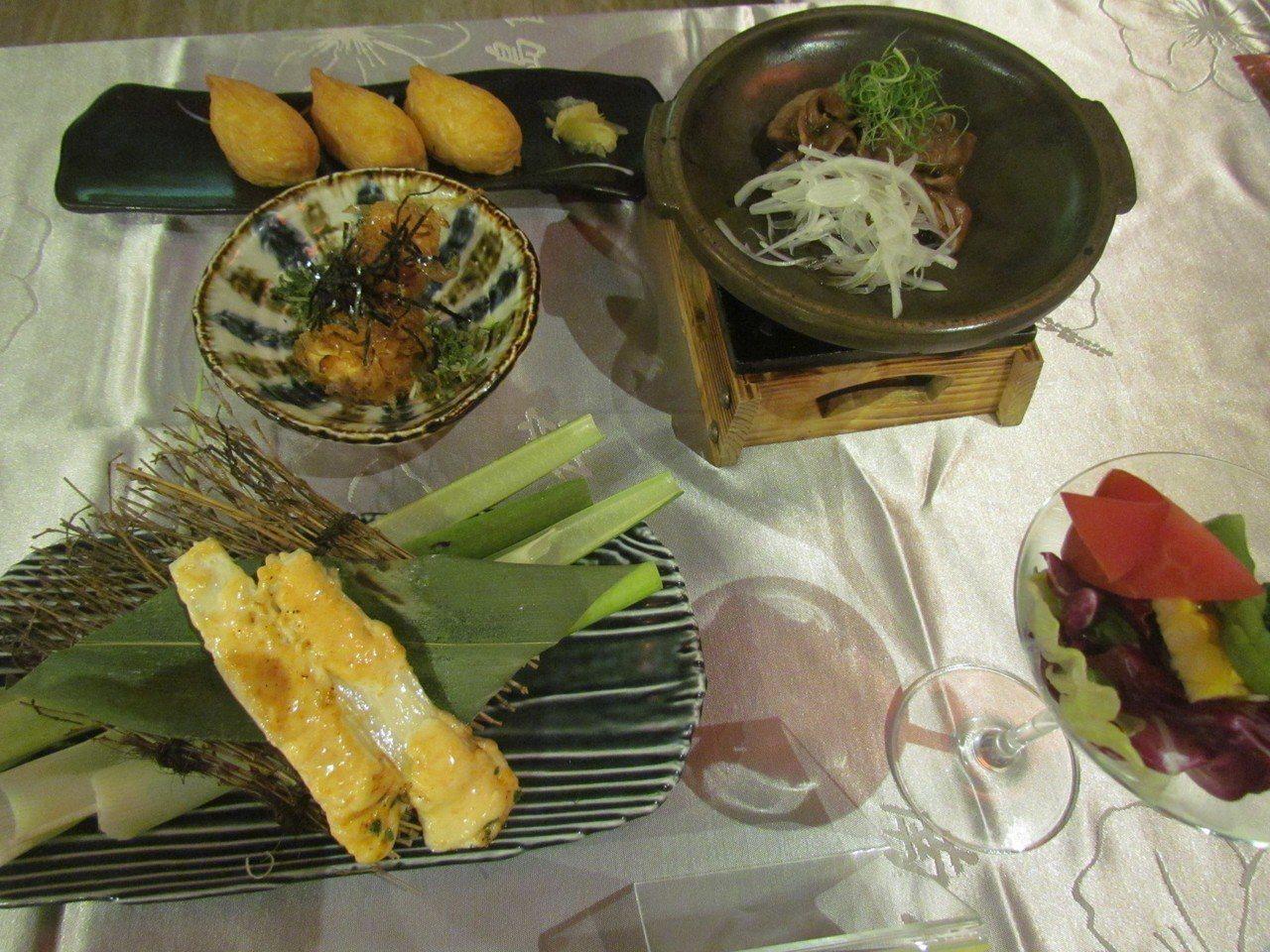 民宿特色早餐使用在地當令的食材,可讓遊客吃出幸福感。記者張家樂/攝影