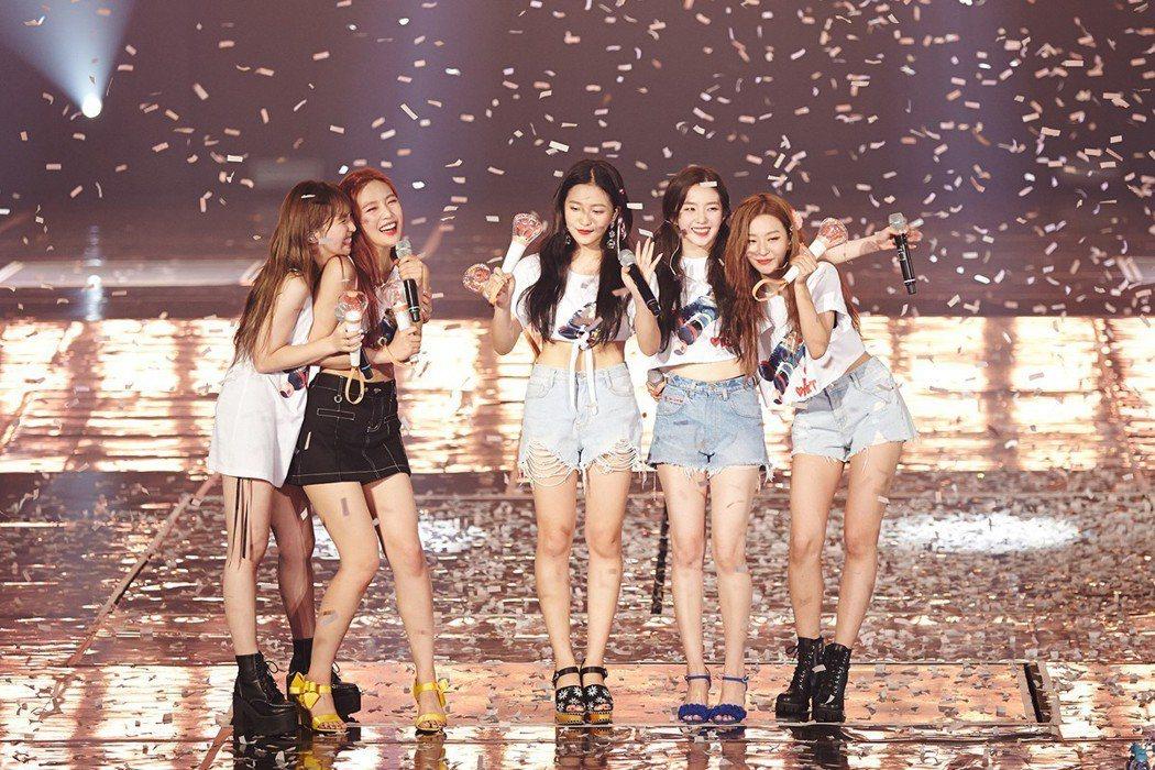 Red Velvet 演唱會圓滿落幕。圖/愛貝克思提供