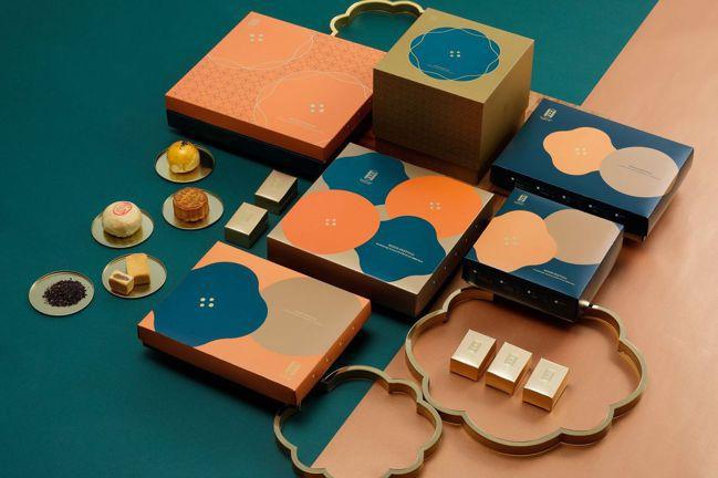 漢餅知名品牌舊振南的中秋禮盒,以台式月餅綠豆椪及蛋黃酥最受消費者歡迎。圖/舊振南...