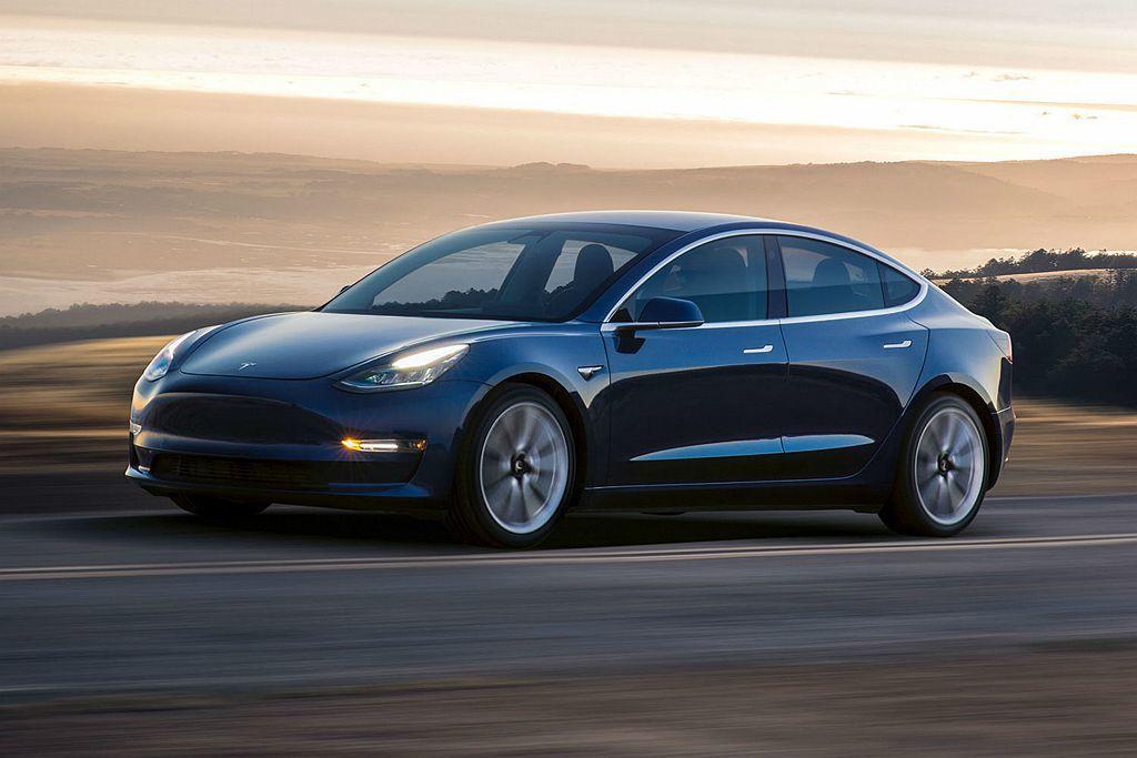Tesla Model 3終於要在明年登台並走平價路線。圖/Tesla提供