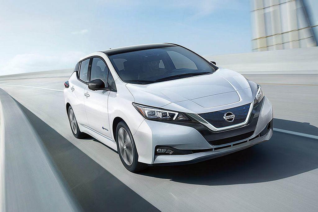 全新第二代Nissan Leaf將在明年底台開賣。圖/Nissan提供