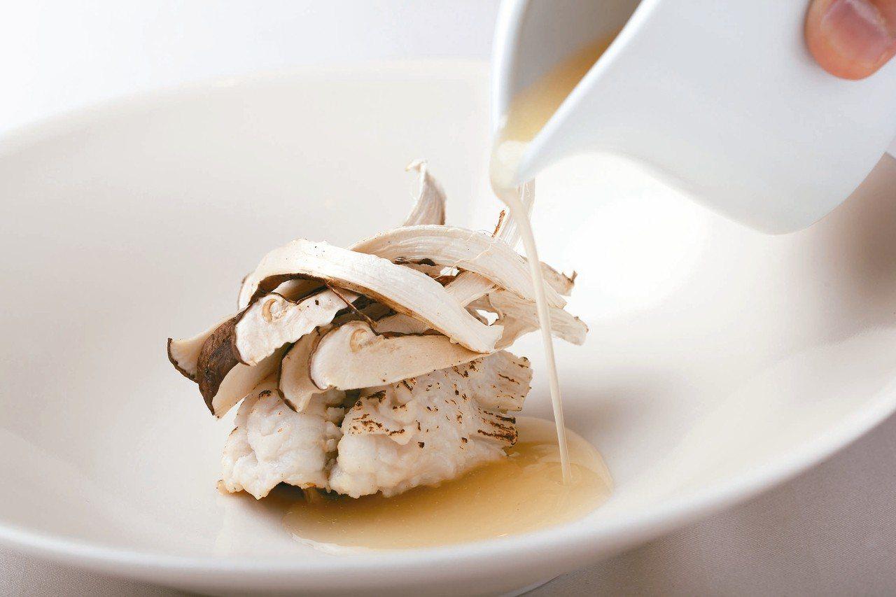水之法國料理為旅人帶來不一樣的五感體驗。 圖/有行旅提供