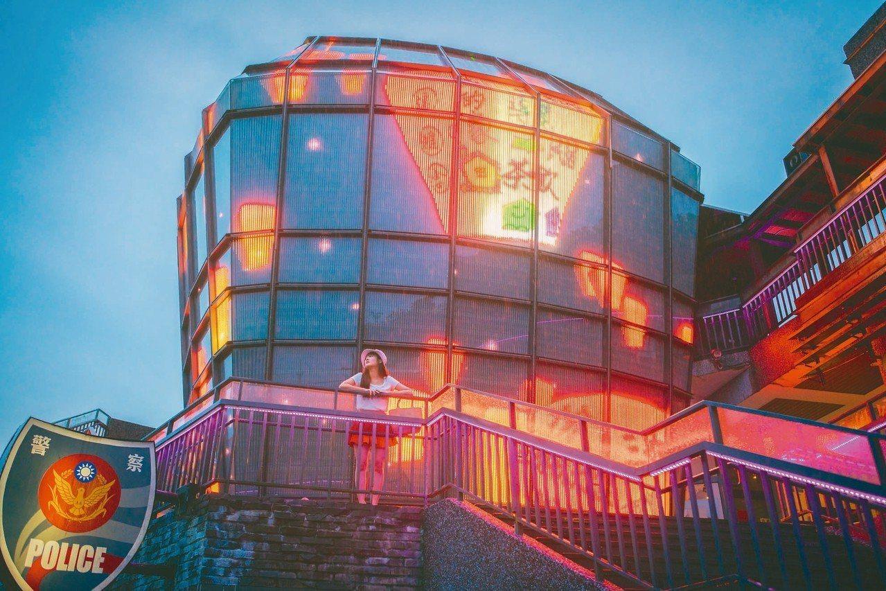 新北市觀光旅遊局推出「小包旅行」,圖為平溪天燈派出所。 圖/新北市觀旅局提供