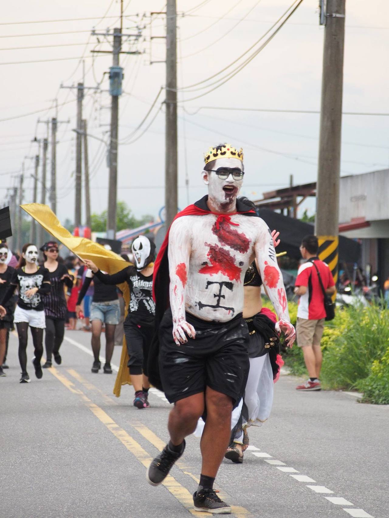 鳳林第7屆「菸樓迷路,百鬼夜行祭」將在周六登場。 圖/翻攝百鬼夜行菸樓迷路臉書