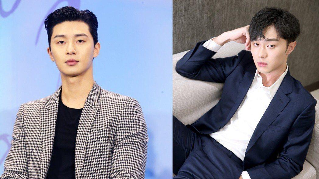 施柏宇(右)俊帥外表撞臉韓國男星朴敘俊(左)。記者徐兆玄、余承翰/攝影