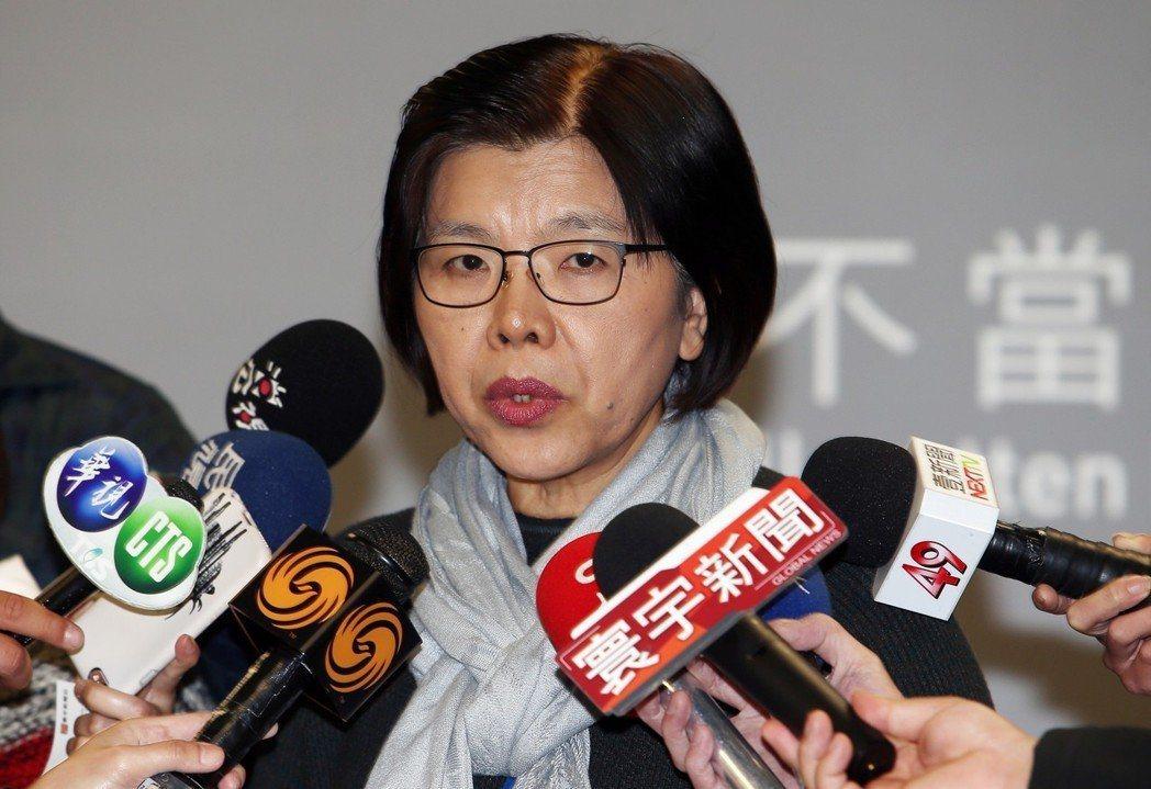 黨產會發言人施錦芳。 圖/聯合報系資料照片