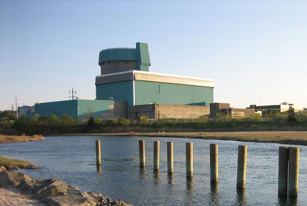 美國肖勒漢姆(Shoreham)核能電廠1984年完工後,從未正式商轉。 (資料...