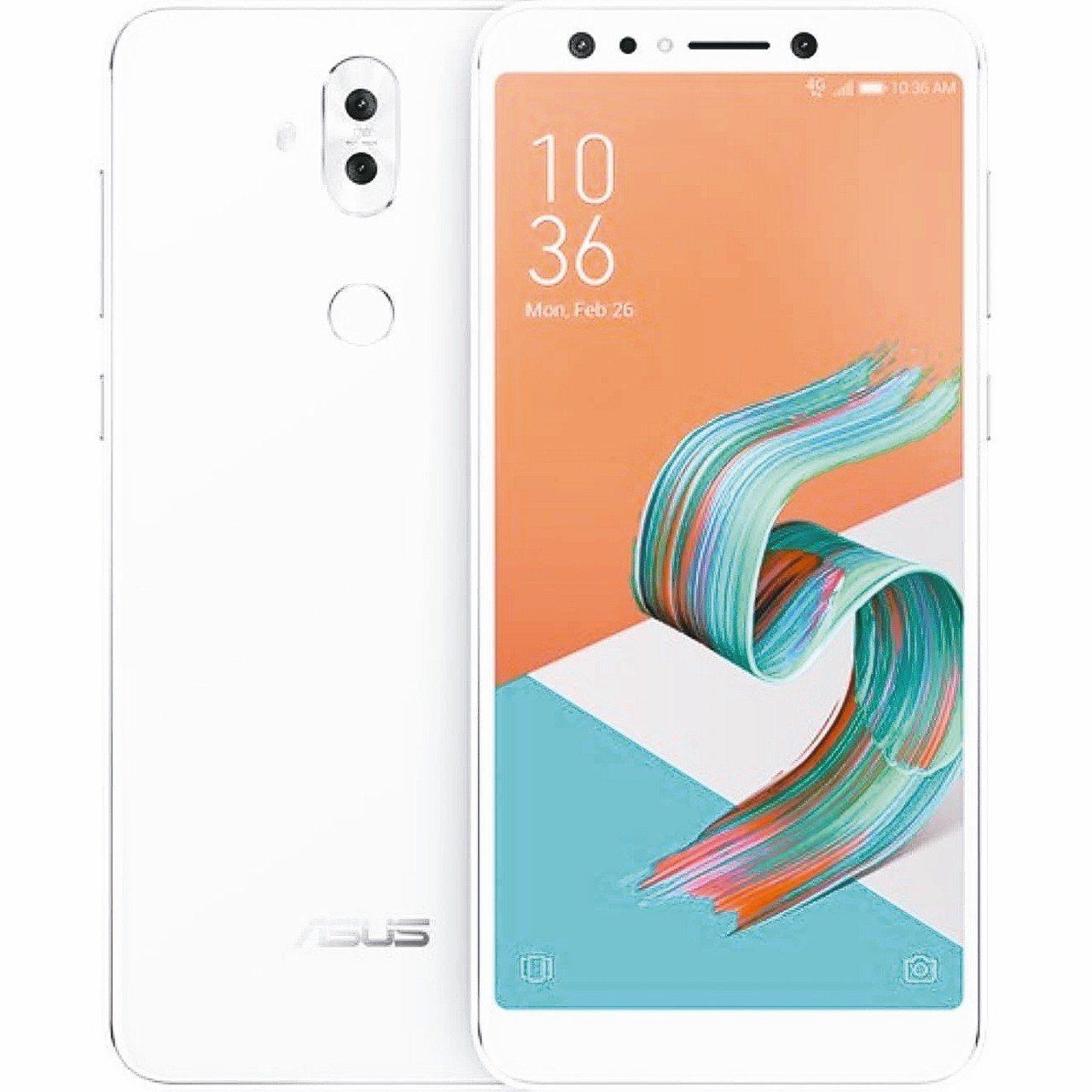 ASUS ZenFone 5Q。 華碩/提供