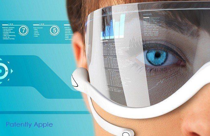 蘋果深耕擴增實境(AR)眼鏡技術。 圖擷自外媒Patently Apple