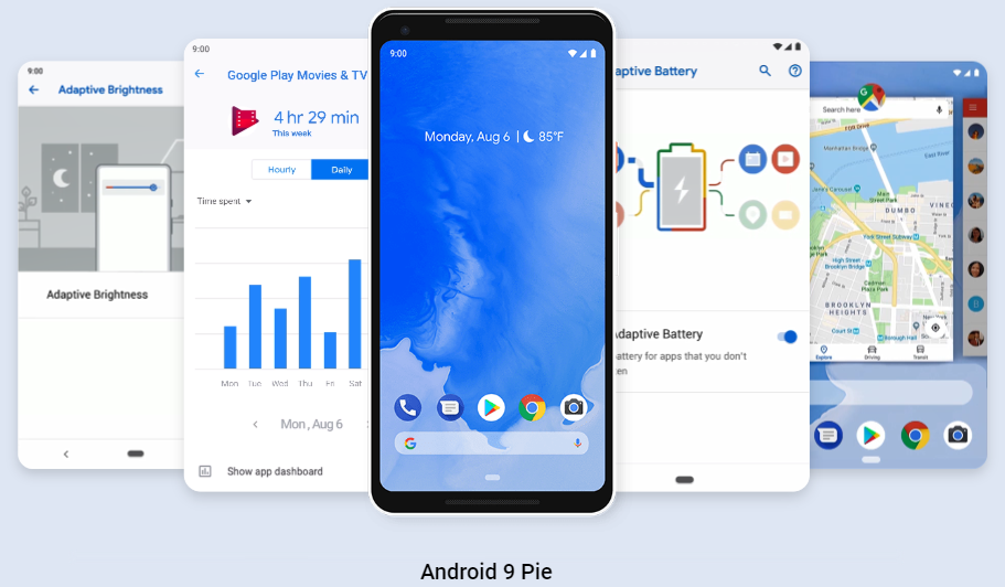 Google正式介紹Android 9 Pie作業系統。 圖擷自Android ...