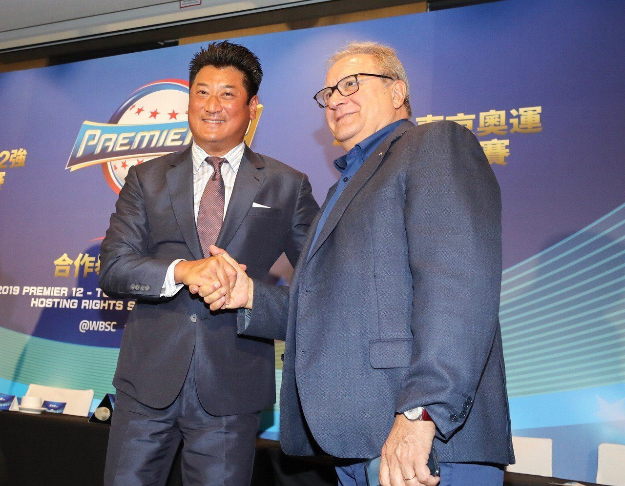 「2019年世界12強棒球錦標賽」暨「2020東京奧運棒球資格賽」合作簽約儀式7...