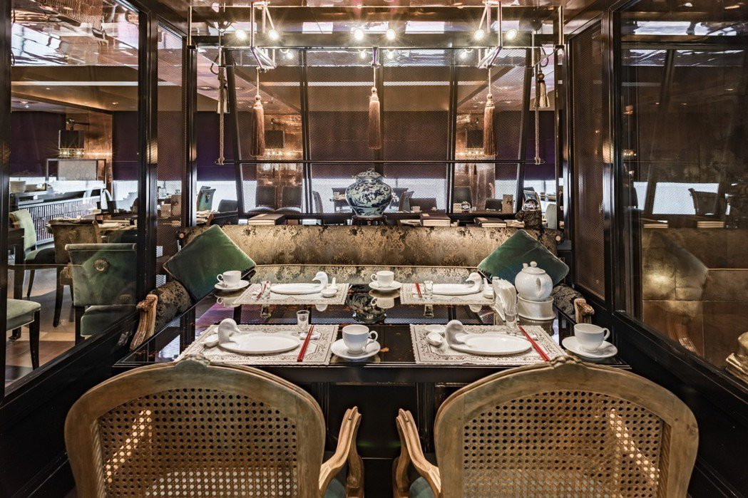 頤宮中餐廳半開放式包廂區。 雲朗觀光/提供