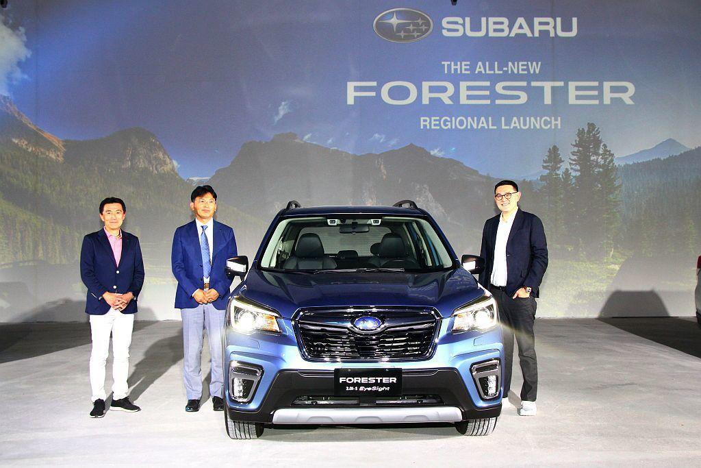 第五代Subaru Forester在台售價自103萬元萬台幣起(2.0i-L)...