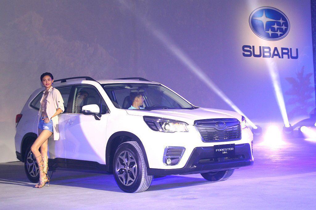 繼年中在日本正式開賣後,全新第五代Subaru Forester亞洲區首發選在台...