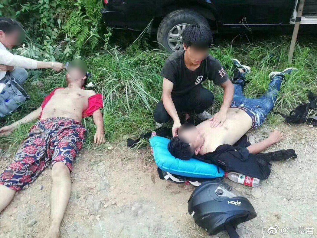 大陸電影《惡循環》日前在拍攝時發生嚴重車禍意外。 圖/擷自微博