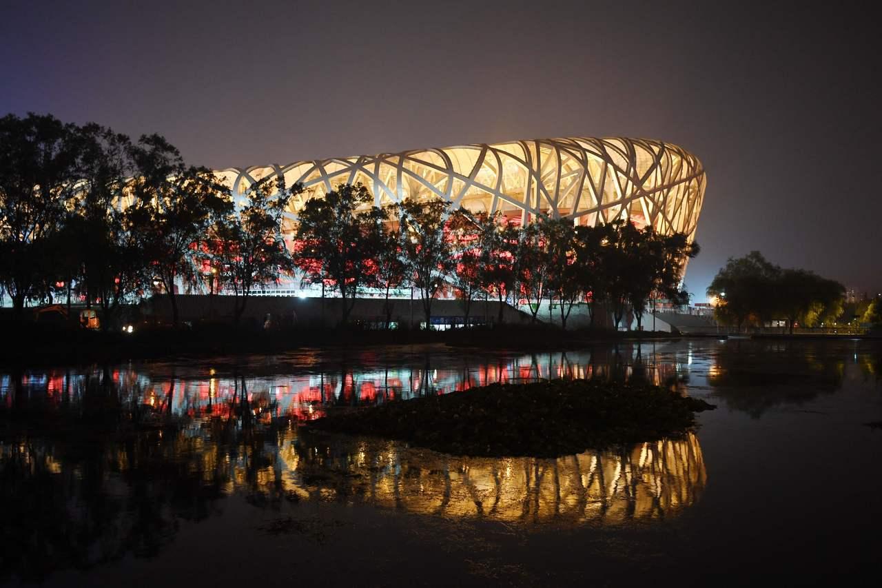 北京奧運的場館裡,只剩鳥巢體育館還在營運。 法新社