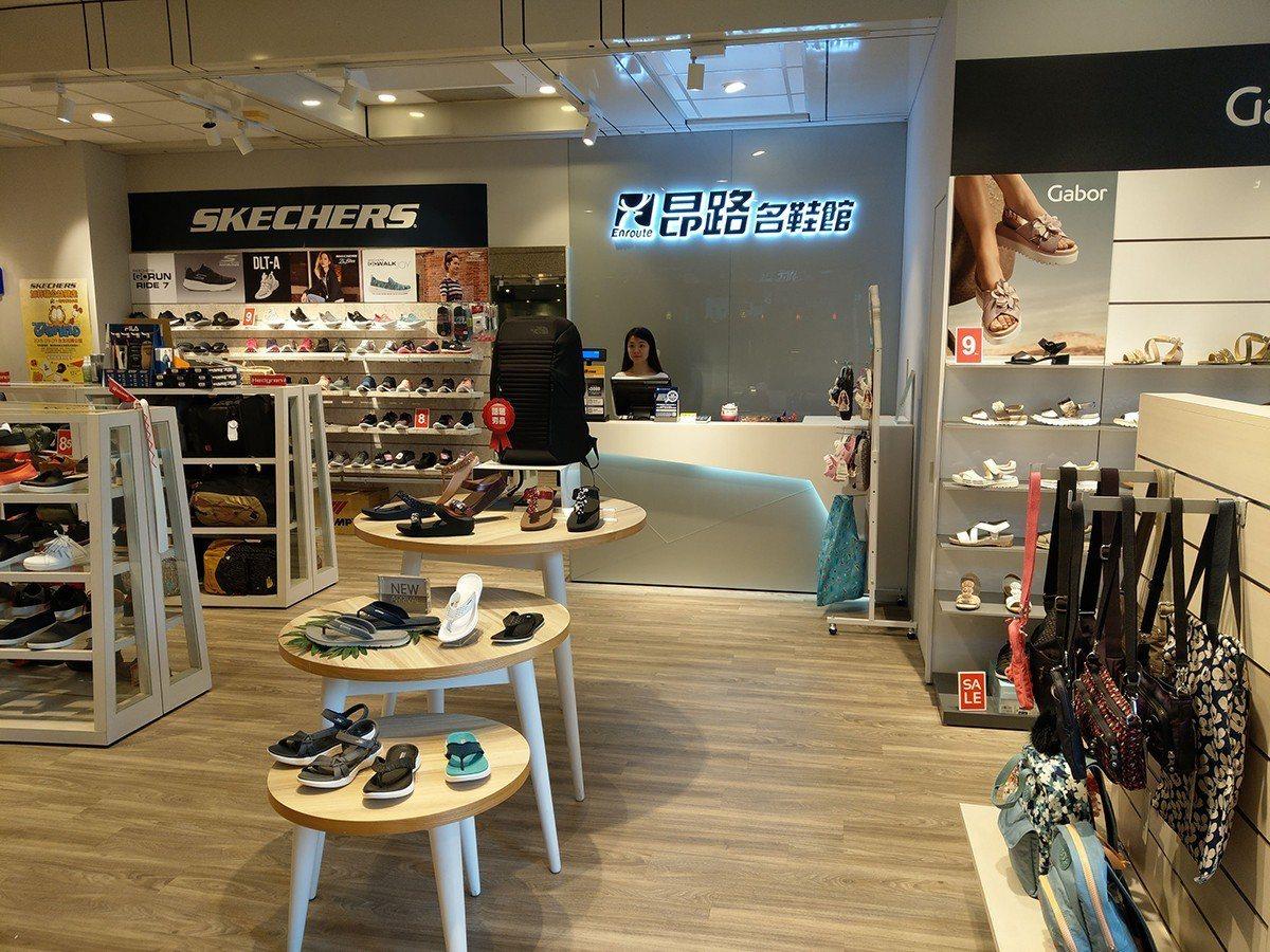 昂路名鞋可以刷AE卡買鞋。圖/各業者提供