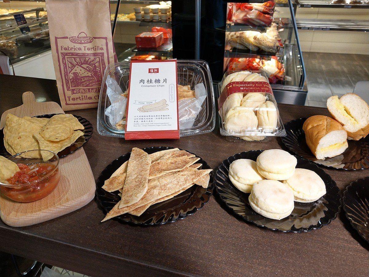 福利麵包店的麵包誘人。圖/各業者提供