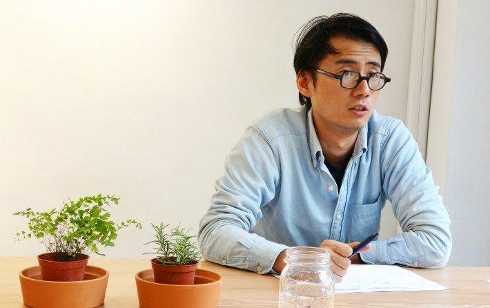 簡仲威希望能設計便利好用的產品,讓環保這件事變得簡單。圖/社企流提供