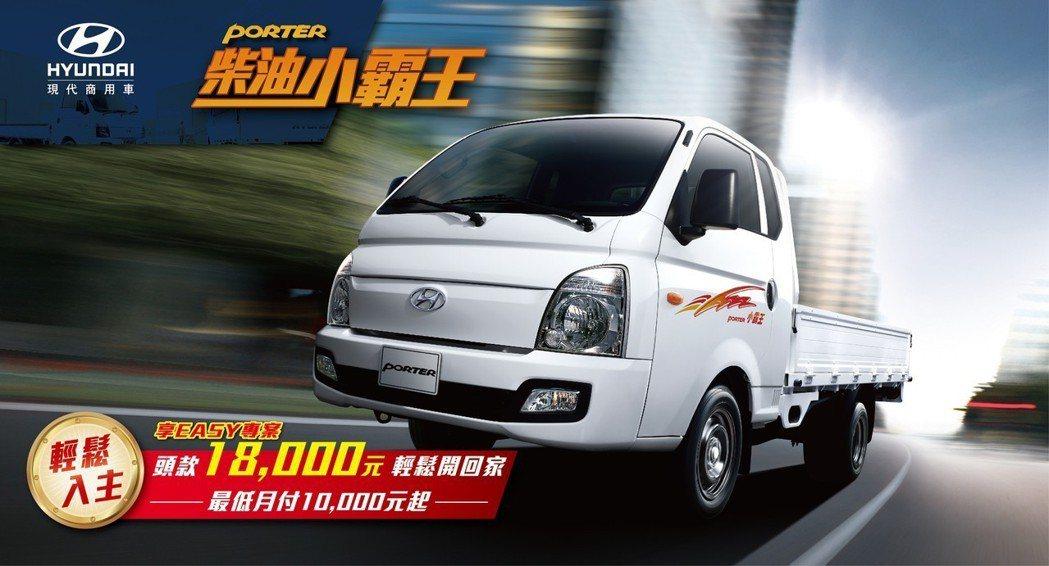 Hyundai享Easy專案,低頭款18,000元及低月付款10,000元,就能...