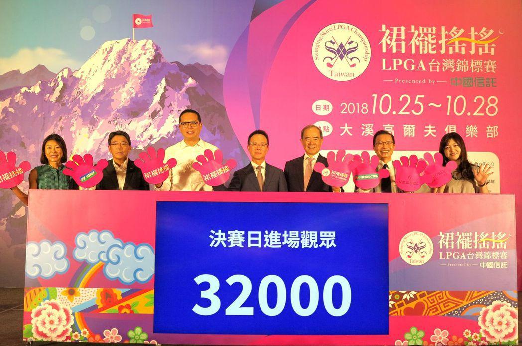 2018裙襬搖搖LPGA台灣錦標賽訂10/25-28移師大溪高爾夫俱樂部開打,中...
