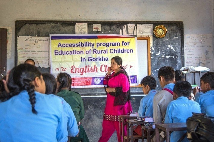 在遠山呼喚的努力之下,小學升國中的升學率由10%大幅提升至98%。圖/遠山呼喚...