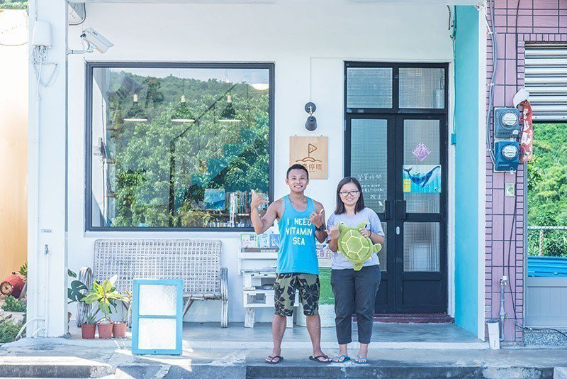 小琉球最幸福的就是海洋及海龜陪伴,藉由傳遞幸福激起大家環保意識!  攝影|行遍天...