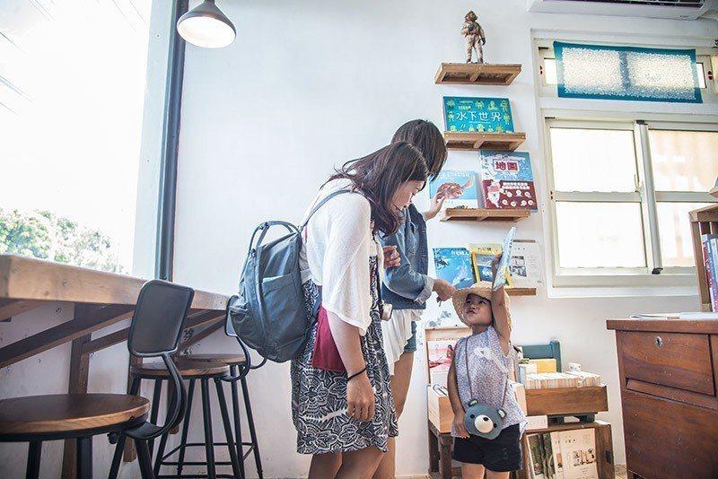 適合帶小朋友一起體驗海洋環境教育的獨立書店  攝影|行遍天下