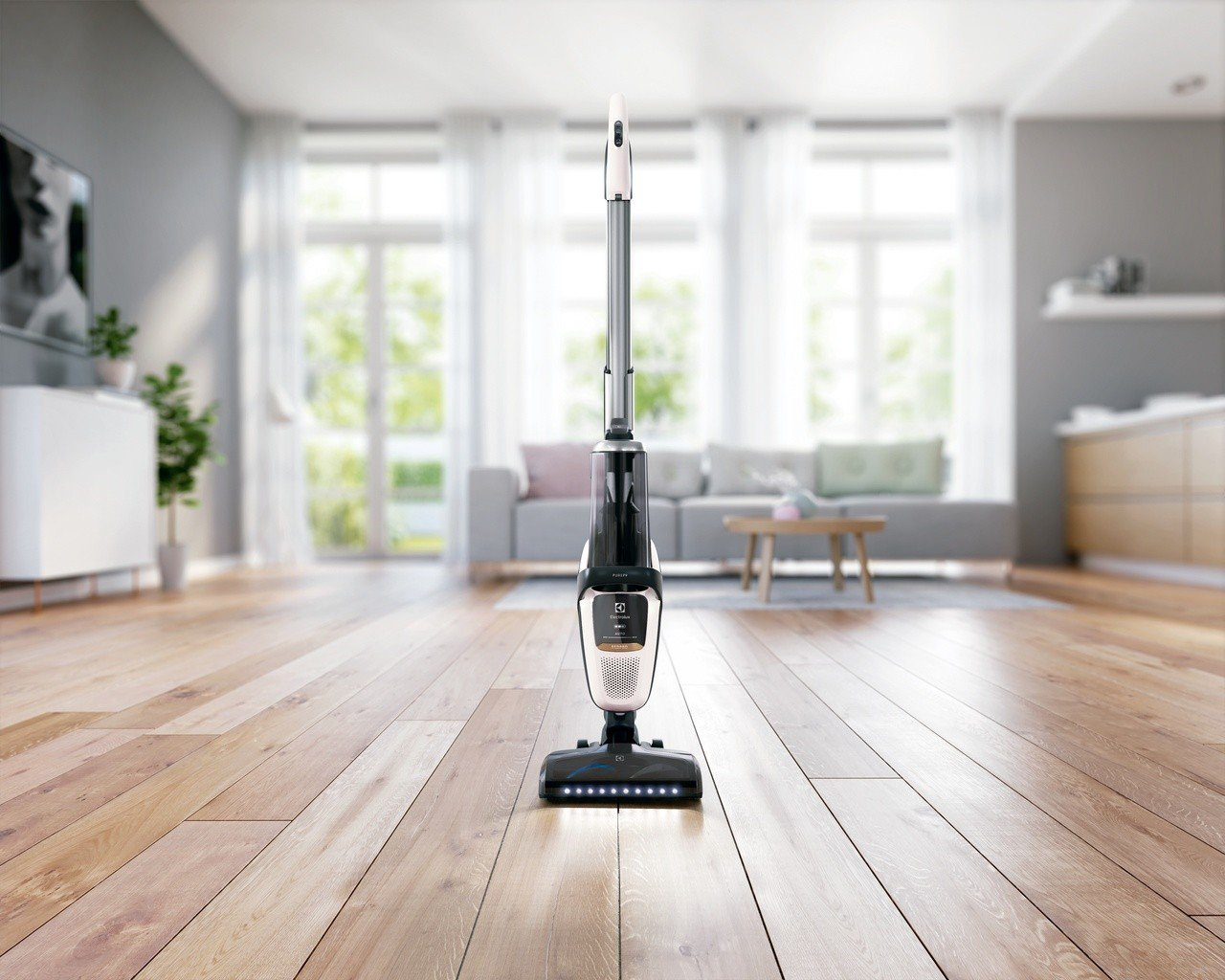 伊萊克斯本於瑞典總部發布了全新Pure F9滑移百變吸塵器,推出業界首創主機滑移...