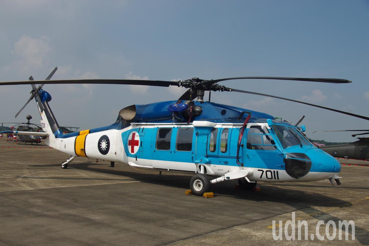 即將功成身退的S-70C-1直升機。記者程嘉文/攝影