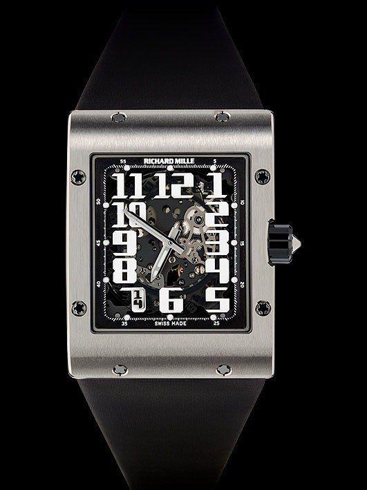 RICHARD MILLE RM016超薄腕表,18K白金表殼,搭載RMAS-7...